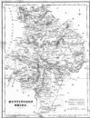 HUNTS : Huntingdonshire : Fullarton, 1844 map